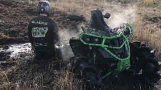 Can Am Renegade 1000 Up Hill Skeg Battle
