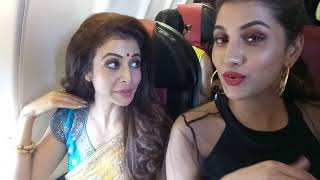 RUKMINI AND KOEL MALLICK TALKING ABOUT THEIR IN-FLIGHT ROMANCE
