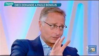 Dieci domande a Paolo Bonolis