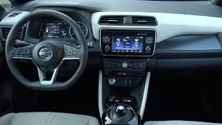 2018 Nissan LEAF  B-roll Interior