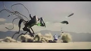Independence Day 2 Final Battle - Alien Queen vs Army _HD_