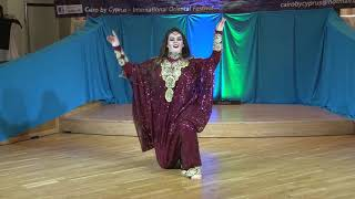 Tais Nonko Belly Dancer Folklore - 6th Cairo by Cyprus Festival 2018