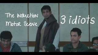 Induction Motor - Funny scene | 3 Idiots | Aamir Khan | R Madhavan | Sharman Joshi