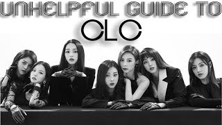 UNHELPFUL GUIDE TO CLC