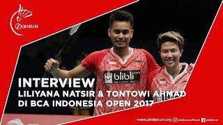 Interview dengan Liliyana Natsir dan Tontowi Ahmad