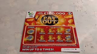 Wow! What a game tonight..3x PAY OUT Scratchcards..2x SUPER BONUS..3x MATCH-3...2x HIDDEN TREASURE