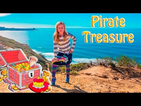ASSISTANT Spooky Pirate Treasure Scavenger Surprise Hunt Toys Video
