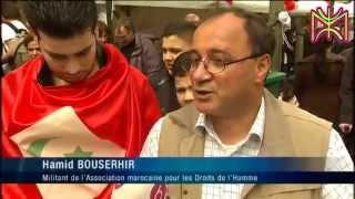 Riffan Flag Showed up on brussels news channel 1 mei 2015, workers day