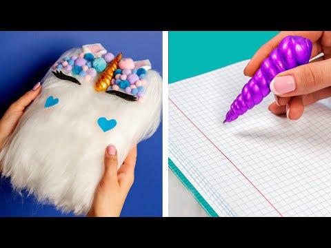 10 Fun DIY School Supplies School Hacks and More