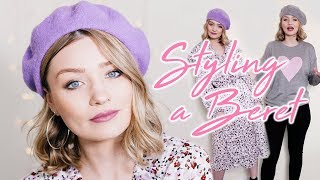 HOW TO WEAR & STYLE A BERET (with outfit ideas) | Laura Bradshaw