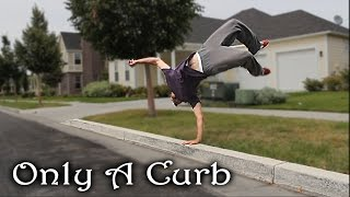 Only a Curb - Simple Object Parkour Training