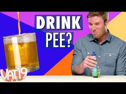 LIFESTRAW CHALLENGE Drinking Pee Backwash & More