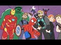 Animated Compilation | EVERY MARVEL MOVIE SO FAR!