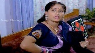 Mondi Mogudu Penki Pellam Movie Scenes   Tanikella Bharani Shocked by Vijayashanthi