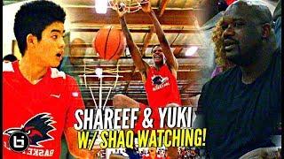 Shaq Watches Shareef O