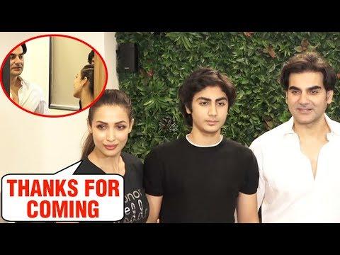 Xxx Mp4 Ex Couple Malaika Arora Arbaaz Khan Back Together For Son Arhaan Khan 3gp Sex