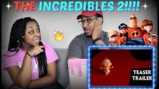 """""""Incredibles 2"""" Official Teaser Trailer REACTION!!!!"""