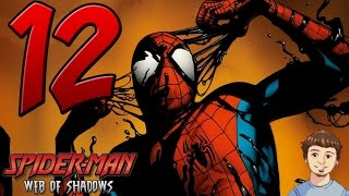 Spider-Man: Web of Shadows Gameplay Walkthrough - PART 12 - Weirdest Video Ending Ever?!?!