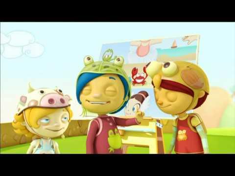 Pajarito Cucu Van Dogh caricaturas infantiles dibujos animados
