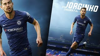 Photoshop Speed Art Design- Jorginho - Chelsea - GD Design