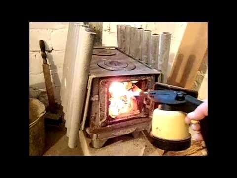 Отопление мастерской своими руками видео