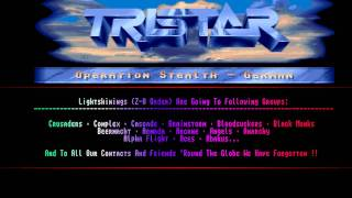 TRISTAR & RED SECTOR Amiga Cracktro [ Operation Stealth ]