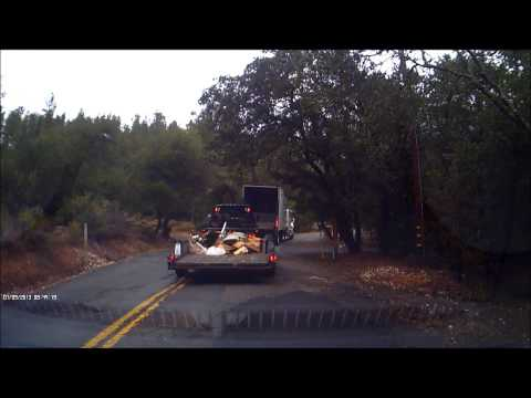 watch Driver cuts me off on one of the most dangerous roads in California