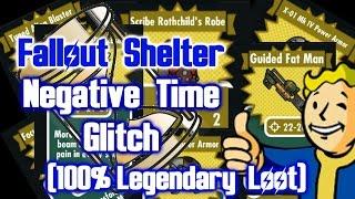 Fallout Shelter - Negative Time Glitch (Patch 1.1)