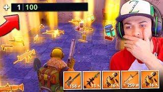 WINNING using *ONLY* LEGENDARY guns in Fortnite: Battle Royale!