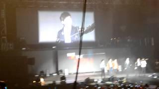 Taecyeon beatboxing for Jun. K and Nichkhun