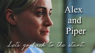 Alex and Piper ~ Let's go back to the start.