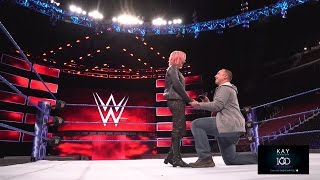 A WWE fan's surprise marriage proposal will make you cry
