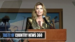 Shania Twain's Sobering Speech at Country Hall of Fame - Taste of Country News 360