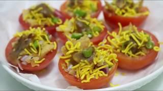ঝাল টমেটো বাংলাদেশি স্ট্রিট ফুড II Hot Spicy Tomato-Bangladeshi Street Food Recipe