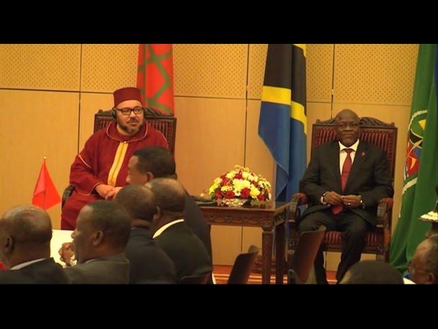 Maroc Tanzanie Signature d'accords multiples