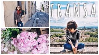 VLOG // Fransa Provence Gezisi 1 // Arles, St. Remy, Baux