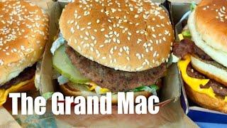 Comparing McDonald's new Grand Mac and Mac Jr to the Big Mac