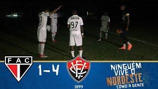 Melhores Momentos - Ferroviário 1 x 4 Vitória - Copa do Nordeste (21/03/2018)