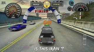 CAR RACING COMPETITION IN IRAN | Iran Drift 2 GAME: مسابقه اتومبیل رانی در ایران
