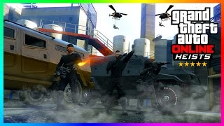 TOP SECRET GOVERNMENT AGENCY BREAK-IN & IMPOSSIBLE EMP ROBBERY SLEATH RAID - GTA ONLINE HEISTS!