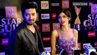 Red Carpet | Star Guild Award 2015 | Ali Fazal and Sapna Pabbi