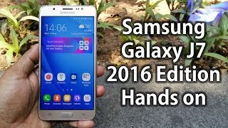 Samsung Galaxy J7 (2016) Hands on Review | First Look