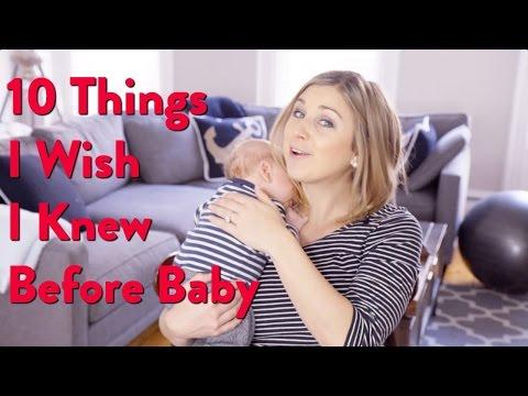 Xxx Mp4 MOM 10 Things I Wish I Knew Before Baby 3gp Sex