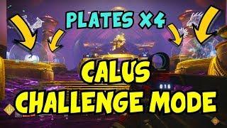 Calus CHALLENGE MODE Clear - Destiny 2