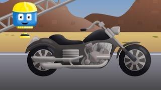 Moto - Trek konstruksi Tom lan Matt | Kartun-kartun konstruksi kangge lare-lare