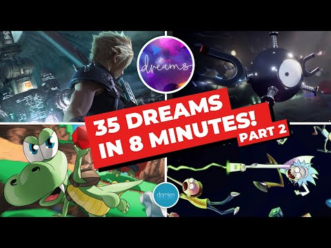 Dreams Ps4 35 Awesome Dreams In 8 Minutes Part 2