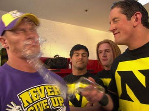 Raw Wade Barrett orders John Cena