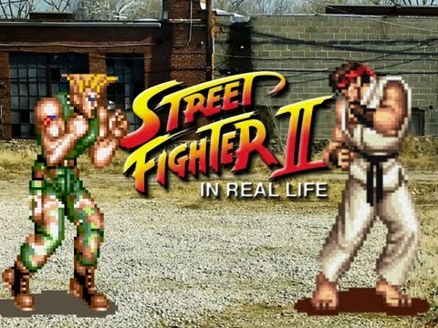 Street Fighter II In Real Life