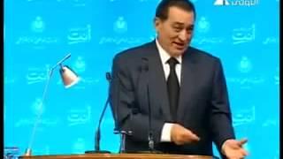 حسني مبارك بيسألوه  فيقول يا راجل كبّر مخــّك