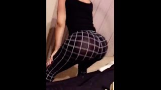 Blac Chyna twerking for finance Rob Kardashian on Blac Chyna Snapchat